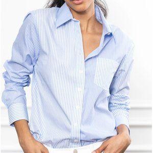 The Shirt-Rochelle Behrens The Boyfriend Shirt